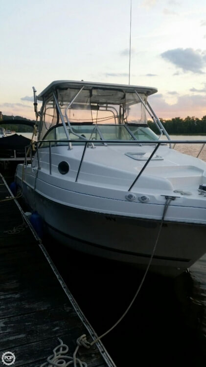 3116409L?2 sold aquasport 275 explorer in hudson, ny pop yachts  at fashall.co