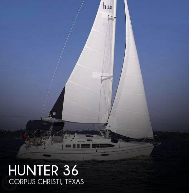 Used Hunter Sailboats For Sale in Texas by owner | 2004 Hunter 34
