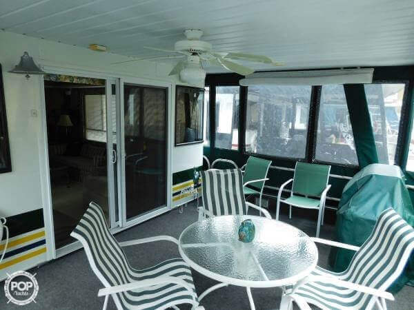 Bow Deck Enclosure Allows Year Around Enjoyment