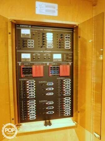 Convenient Control Panel Located In The Galley