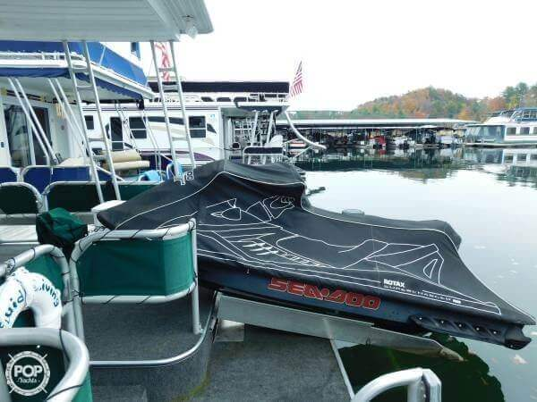 Comes Complete With Seadoo On Aft Deck And Winch