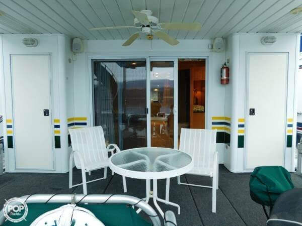 Aft Deck Off Master Stateroom For Sunrise Coffee