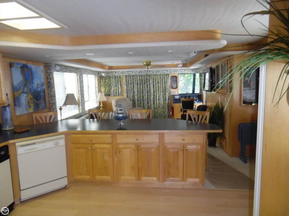 Hardwood Throughout Ship Gives A Warm, Sturdy Impression