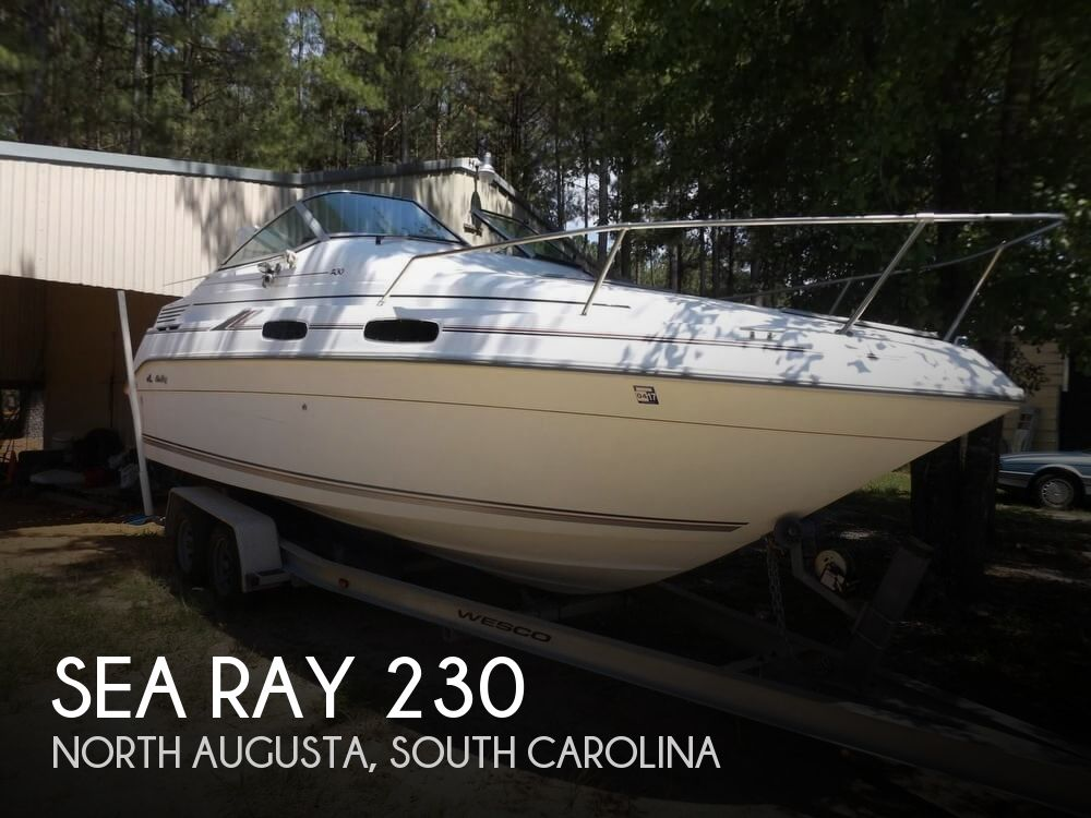 1992 Sea Ray boat for sale, model of the boat is 230 Sundancer LTD & Image # 1 of 40