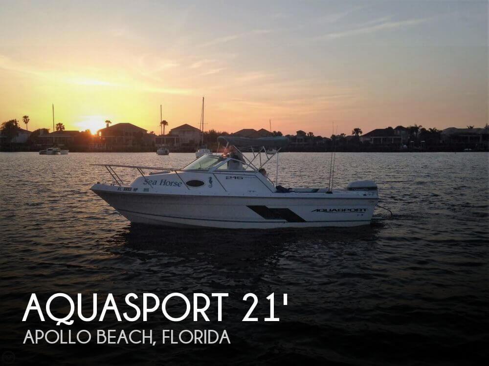 Aquasport 215 explorer for sale in apollo beach fl for for Beach fishing florida