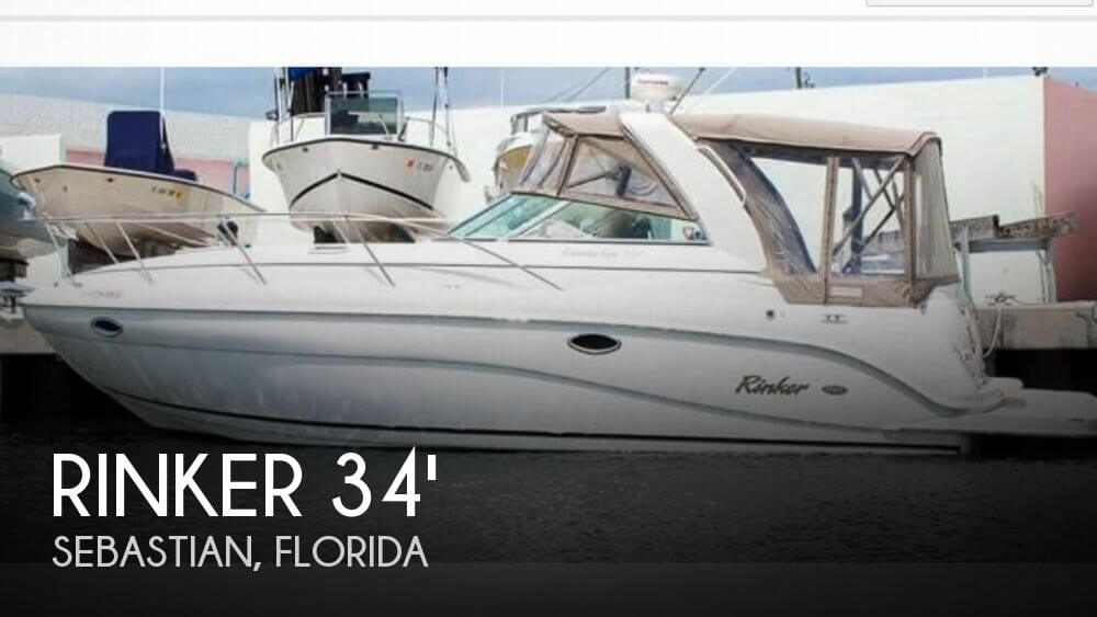 Used Rinker Boats For Sale by owner | 2006 Rinker 34
