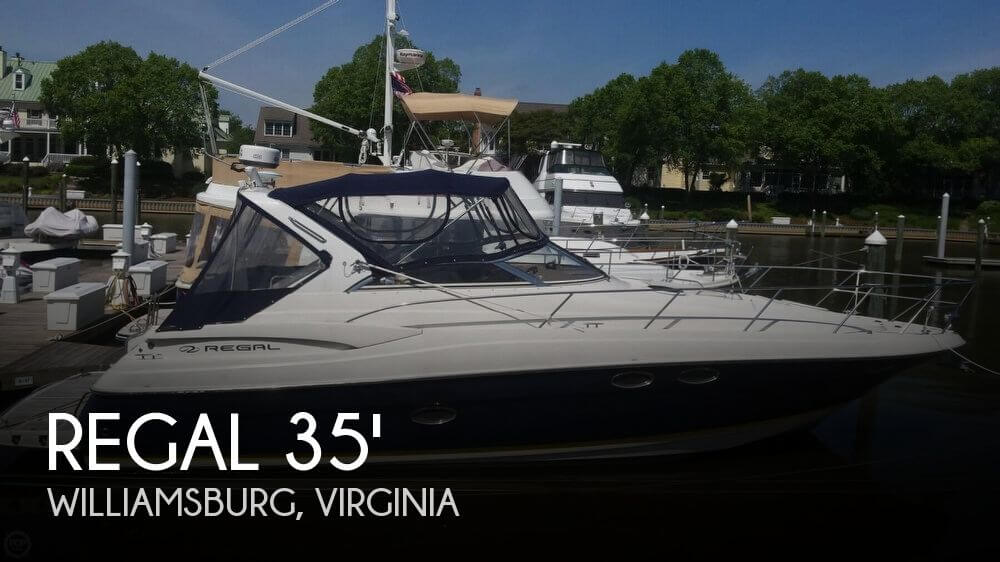 Used Regal Boats For Sale by owner | 2005 Regal 3560 Commodore