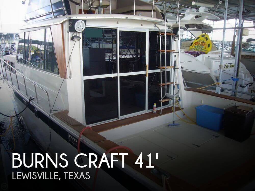 Used Fishing boats For Sale in Dallas, Texas by owner | 1979 41 foot Burns Craft Seville-El Dorado