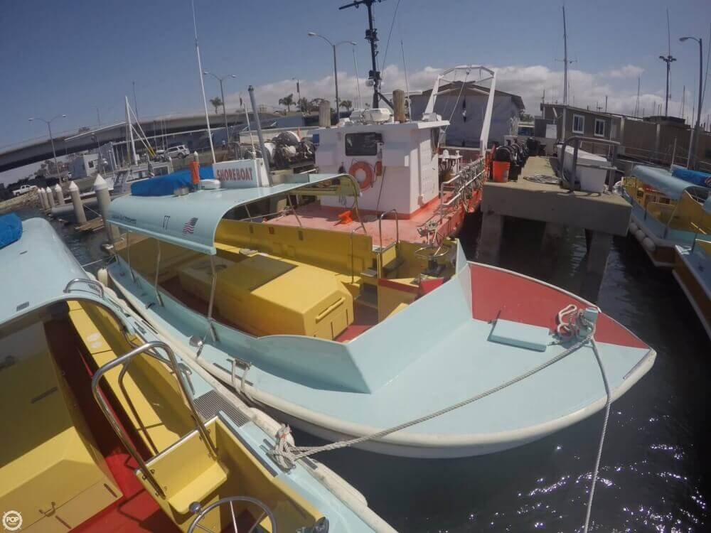 1975 Seaway boat for sale, model of the boat is Boats Company Custom 26' Water Taxi & Image # 3 of 40