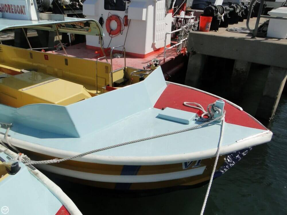 1975 Seaway boat for sale, model of the boat is Boats Company Custom 26' Water Taxi & Image # 4 of 40