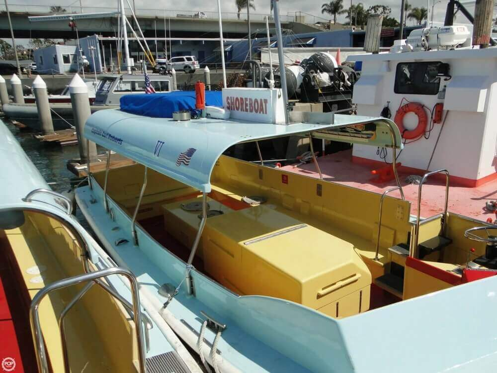1975 Seaway boat for sale, model of the boat is Boats Company Custom 26' Water Taxi & Image # 6 of 40
