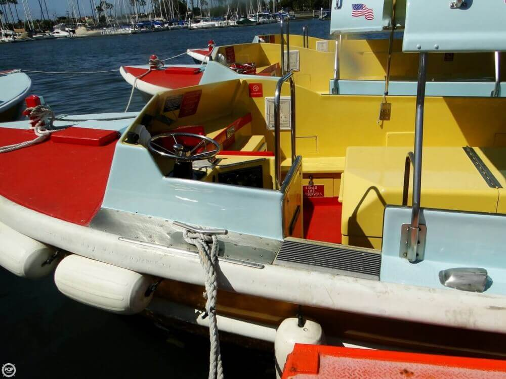 1975 Seaway boat for sale, model of the boat is Boats Company Custom 26' Water Taxi & Image # 31 of 40