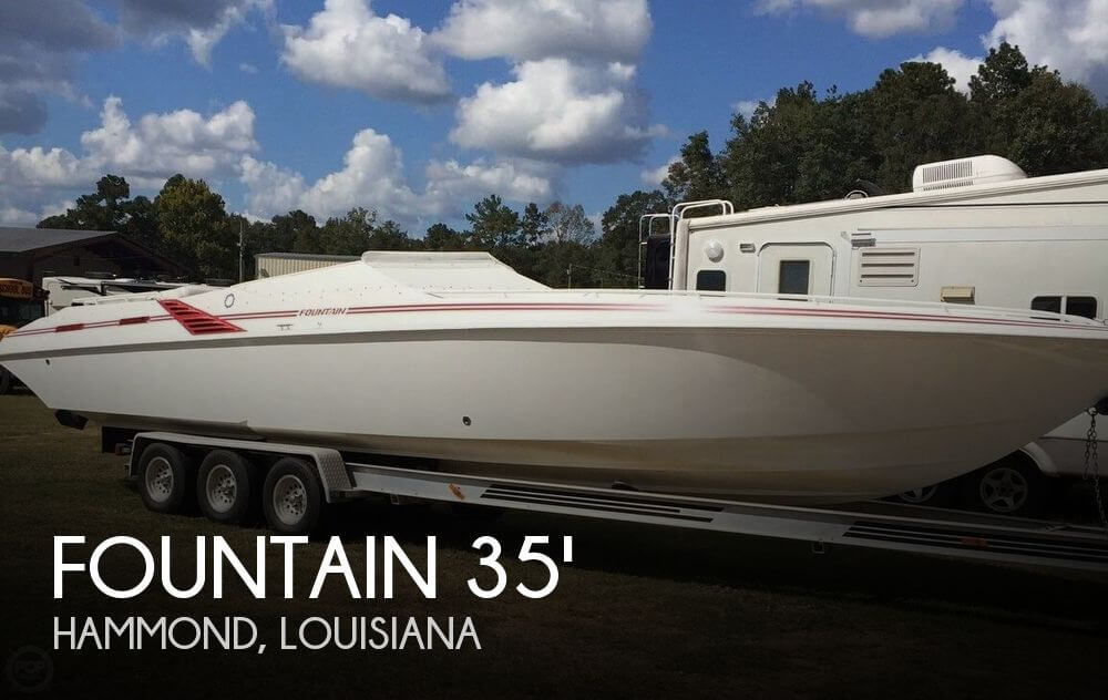 Used Boats For Sale in Baton Rouge, Louisiana by owner   1996 Fountain 35 Lightning