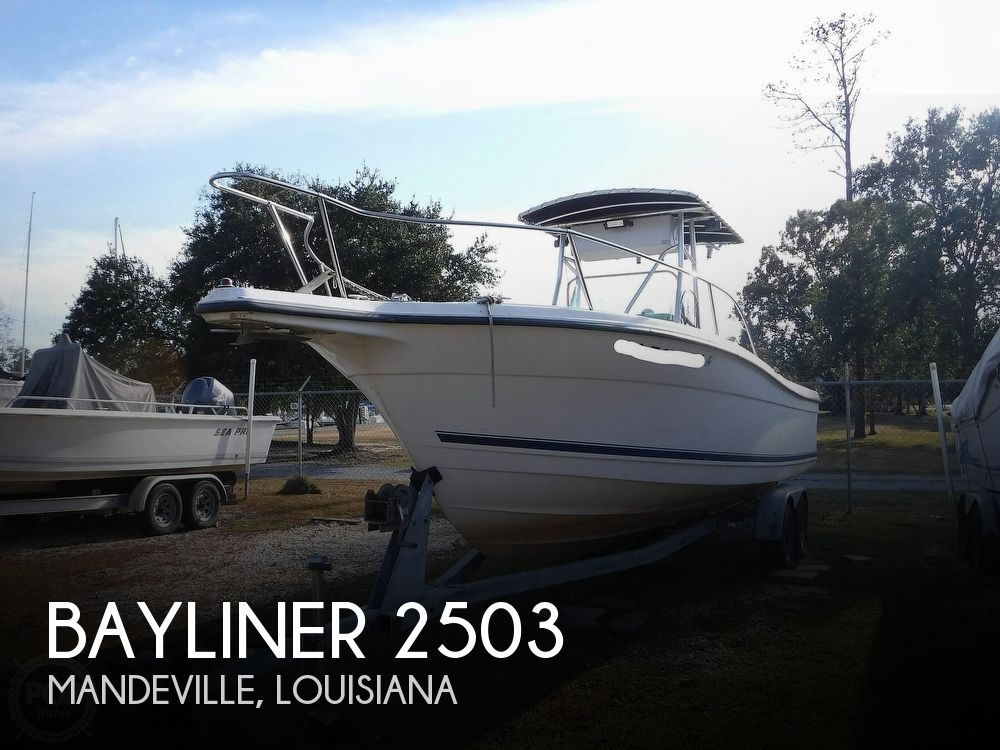 1996 BAYLINER TROPHY 2503 CC for sale