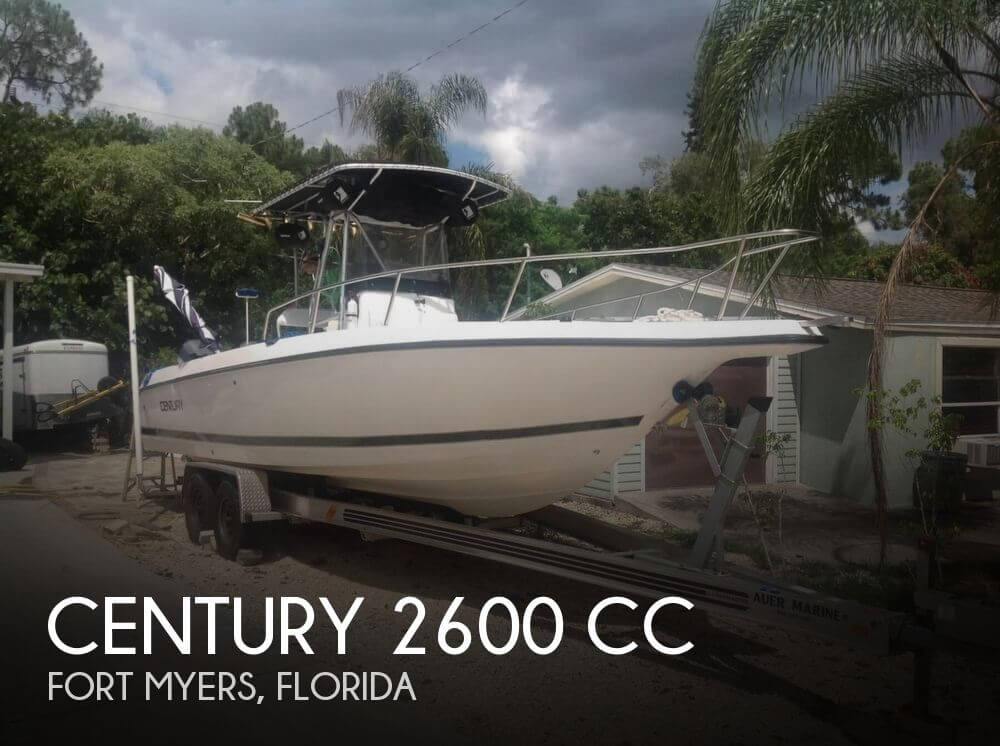 For sale used 1998 century 2600 cc in fort myers florida for Century motors of south florida