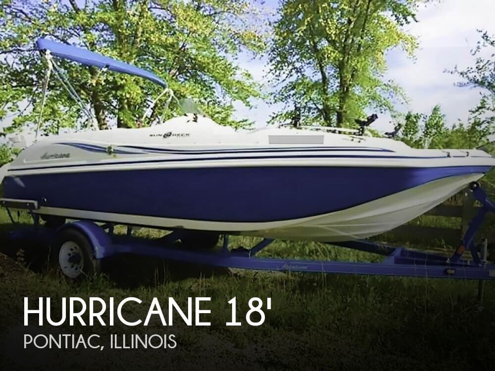 Hurricane sundeck ss 188 for sale in pontiac il for for Hurricane sundeck for sale