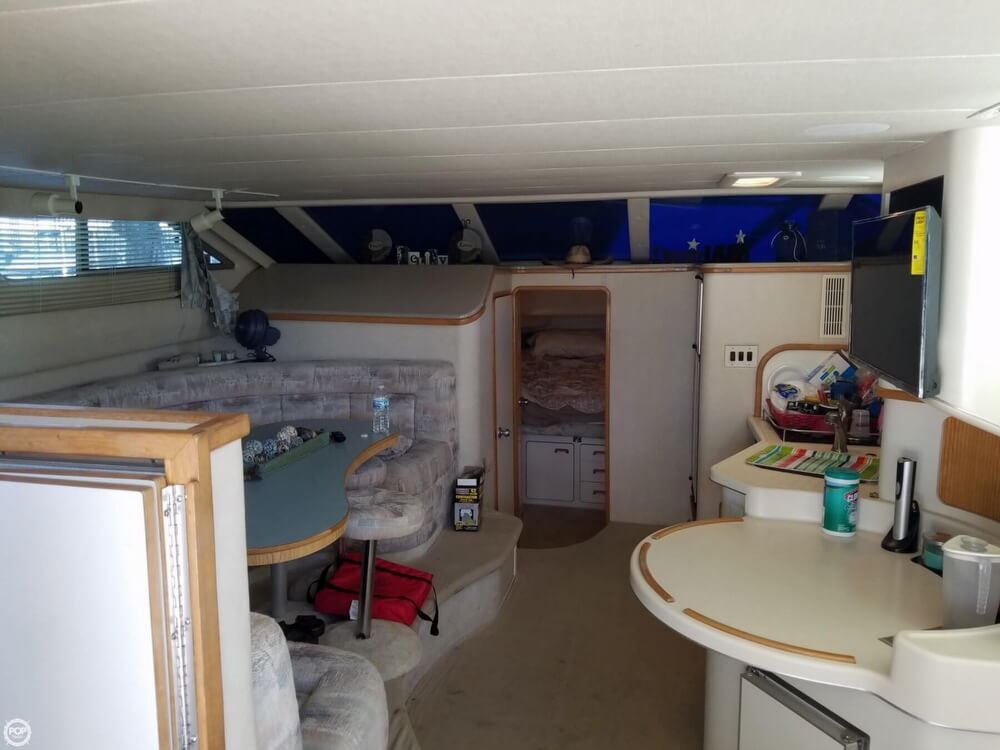 1994 Sea Ray boat for sale, model of the boat is 440 Express Bridge & Image # 10 of 40