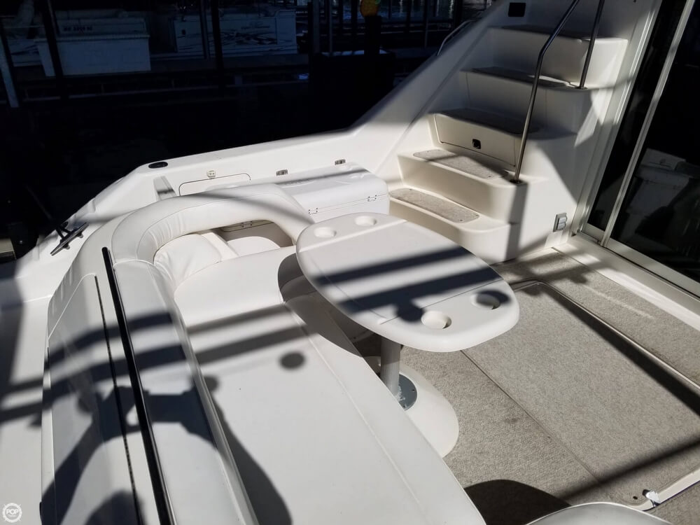 1994 Sea Ray boat for sale, model of the boat is 440 Express Bridge & Image # 19 of 40
