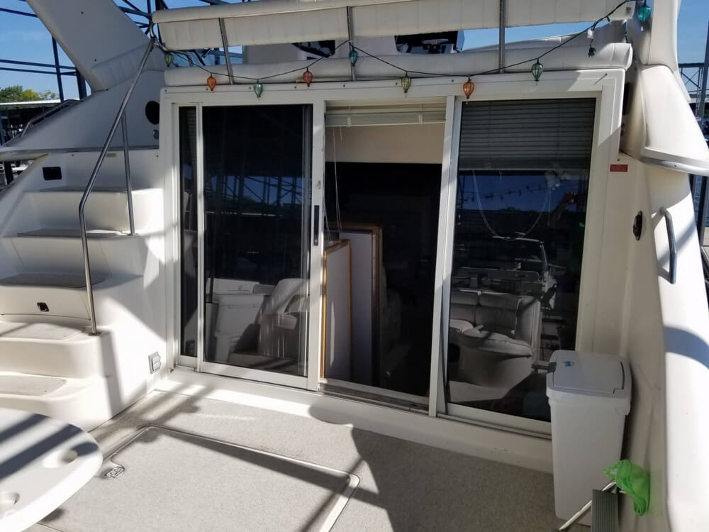 1994 Sea Ray boat for sale, model of the boat is 440 Express Bridge & Image # 20 of 40