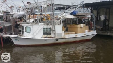 Skiff Craft 31 Shrimp Boat, 31', for sale - $50,000