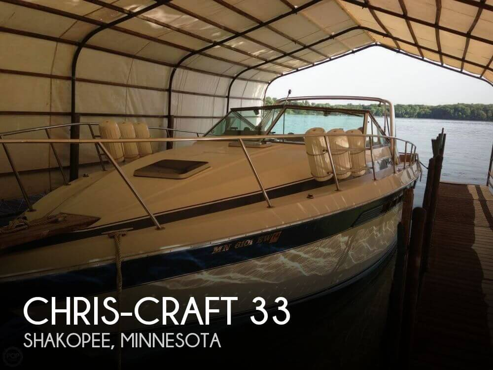Used Boats For Sale in Rochester, Minnesota by owner | 1985 Chris-Craft 33