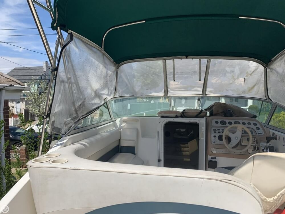 1997 Rinker boat for sale, model of the boat is FIESTA VEE 266 & Image # 25 of 40