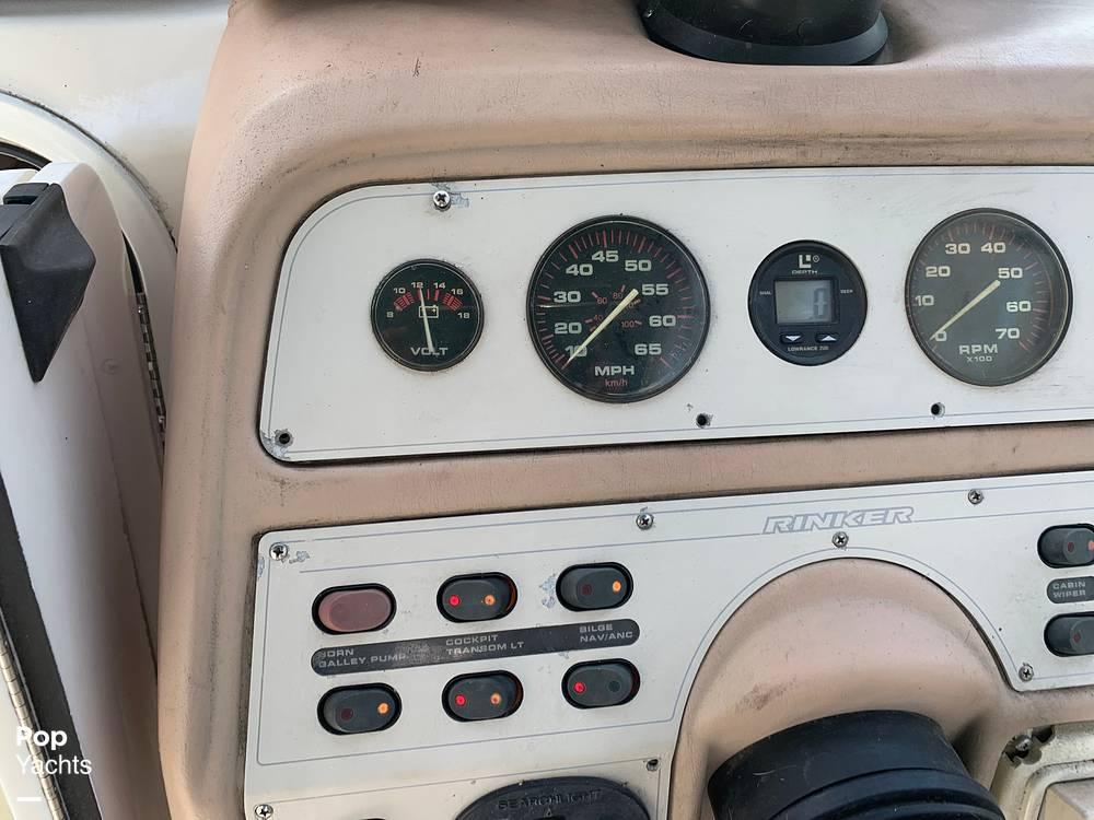 1997 Rinker boat for sale, model of the boat is FIESTA VEE 266 & Image # 37 of 40