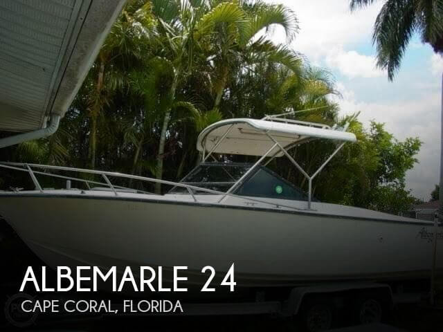 Used Albemarle Boats For Sale by owner | 1989 Albemarle 24