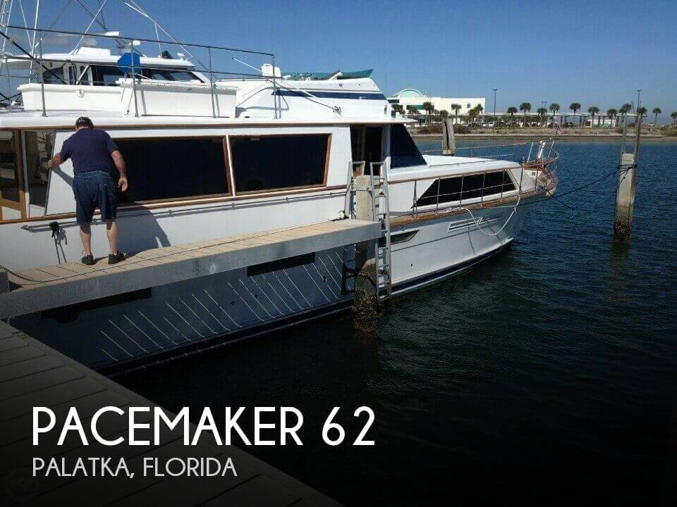 Used Boats For Sale in Deltona, Florida by owner | 1976 Pacemaker 62