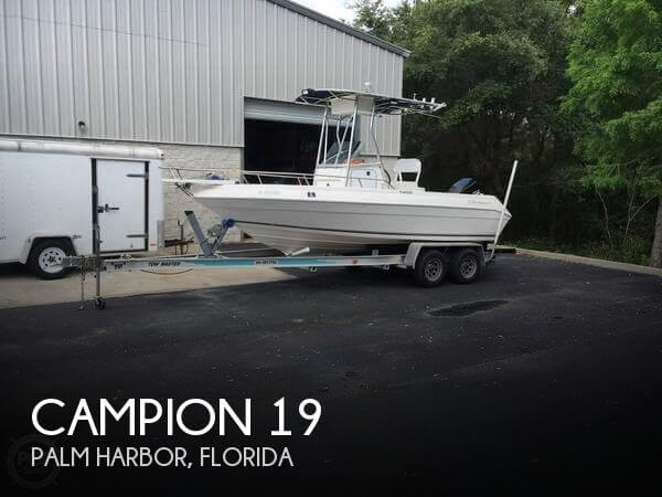 Used Campion  Boats For Sale by owner | 1999 Campion 19
