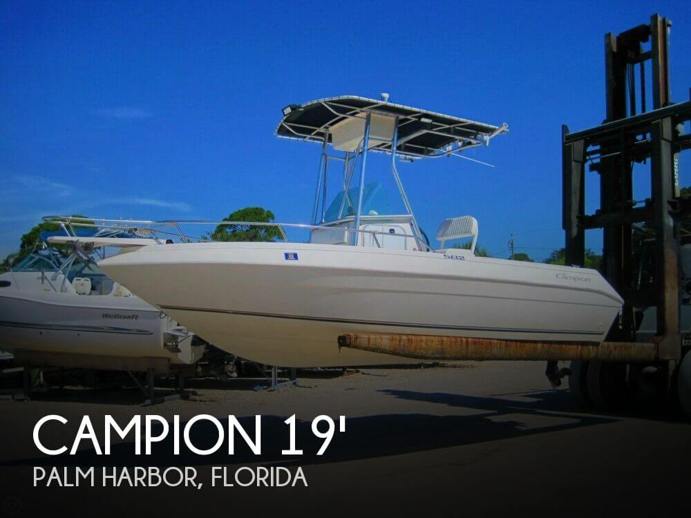 1999 CAMPION 582 EXPLORER for sale