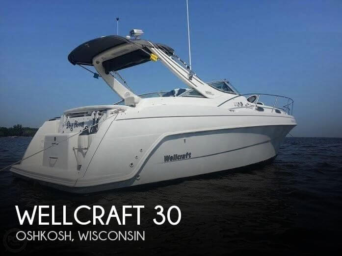 Used Boats For Sale in Green Bay, Wisconsin by owner | 1999 Wellcraft 30