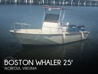 1983 BOSTON WHALER OUTRAGE 25 for sale