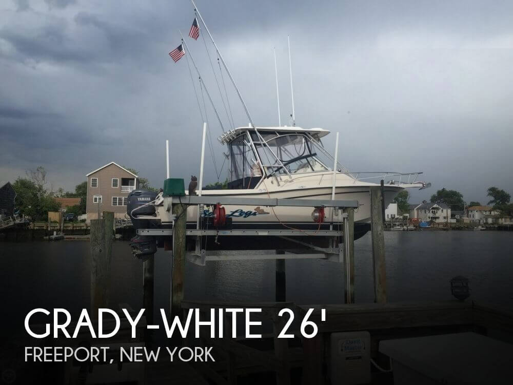 Sold grady white 265 express in freeport ny pop yachts for Freeport fishing boats