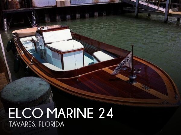 Used Boats For Sale in Deltona, Florida by owner | 1991 Elco Marine 24