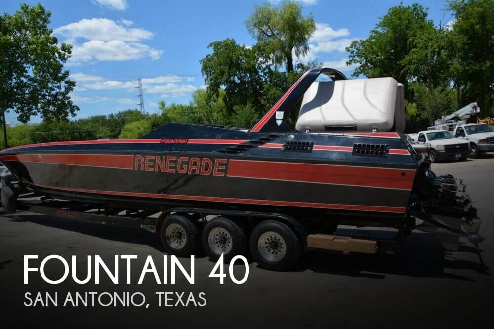 Used Boats For Sale in San Antonio, Texas by owner | 1988 Fountain 40