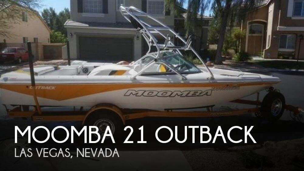 2007 Moomba 21 Outback For Sale