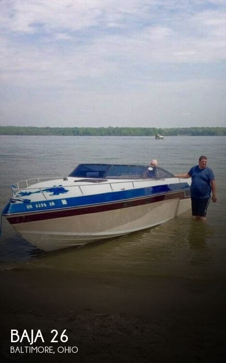 Used Baja Boats For Sale in Ohio by owner | 1987 Baja 26