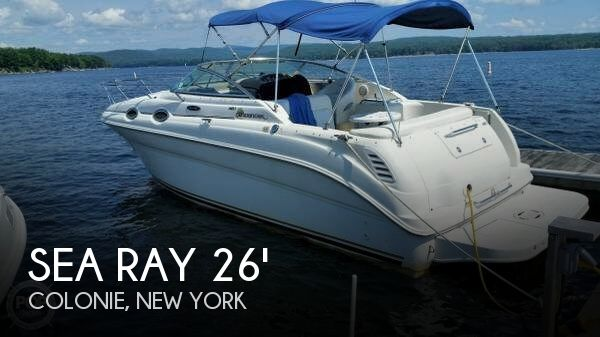 Used Boats For Sale in Albany, New York by owner | 2002 Sea Ray 26
