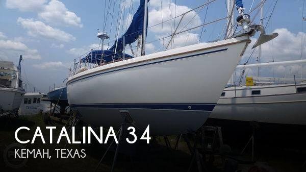1987 Catalina 34 - Photo #1