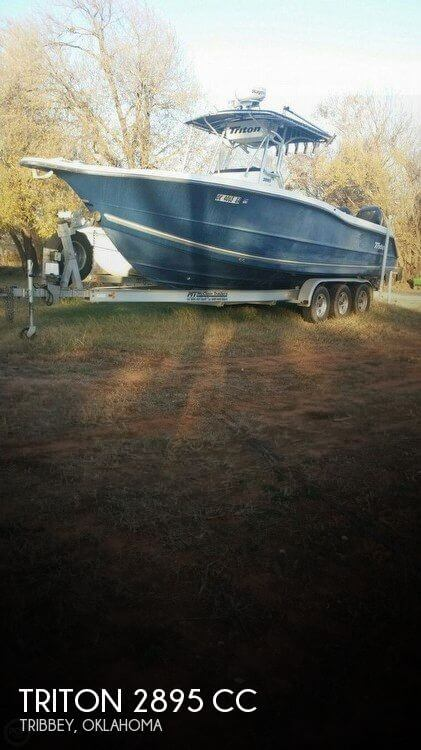 Used Boats For Sale in Oklahoma City, Oklahoma by owner | 2007 Triton 29