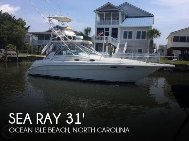 Used Fishing boats For Sale in North Carolina by owner | 1997 Sea Ray 31