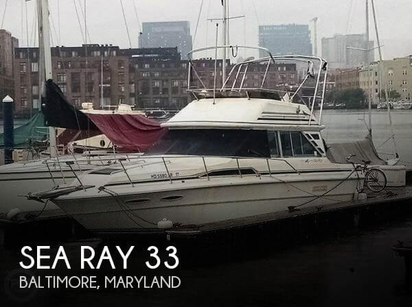 1987 Sea Ray 33 - Photo #1