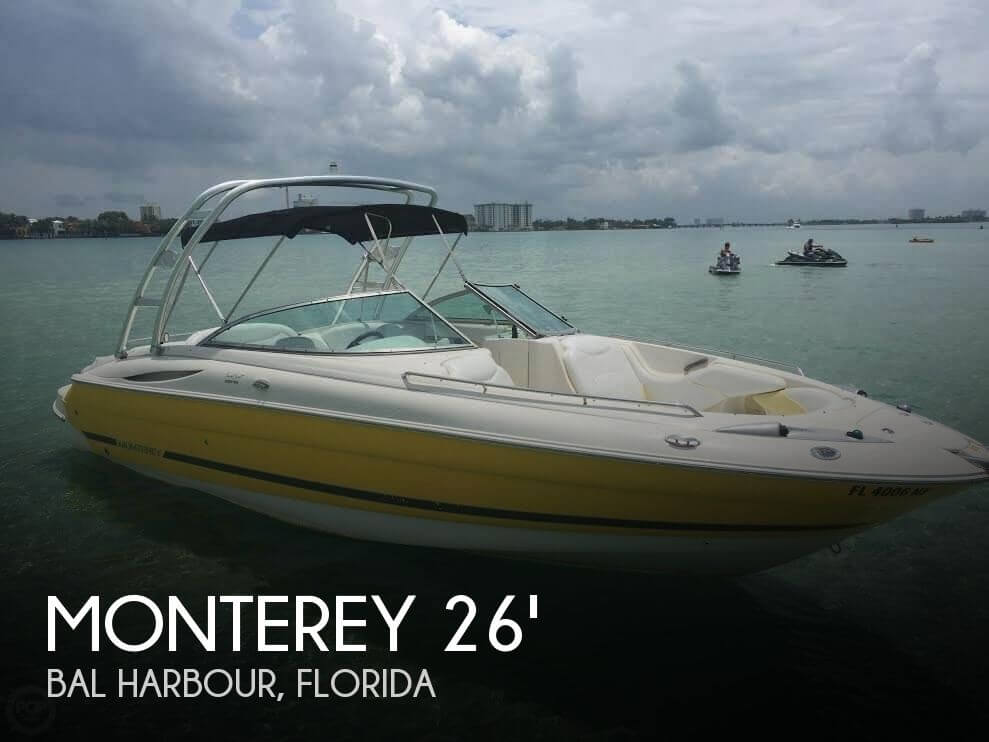 For sale used 2006 monterey super sport 268 ss in bal for Monterey sport fishing