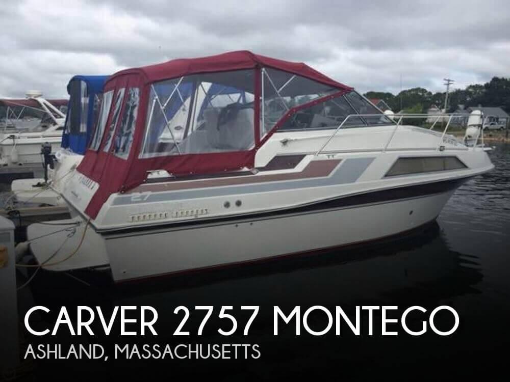 27 Foot Carver 27 27 Foot Carver Motor Boat In Ashland