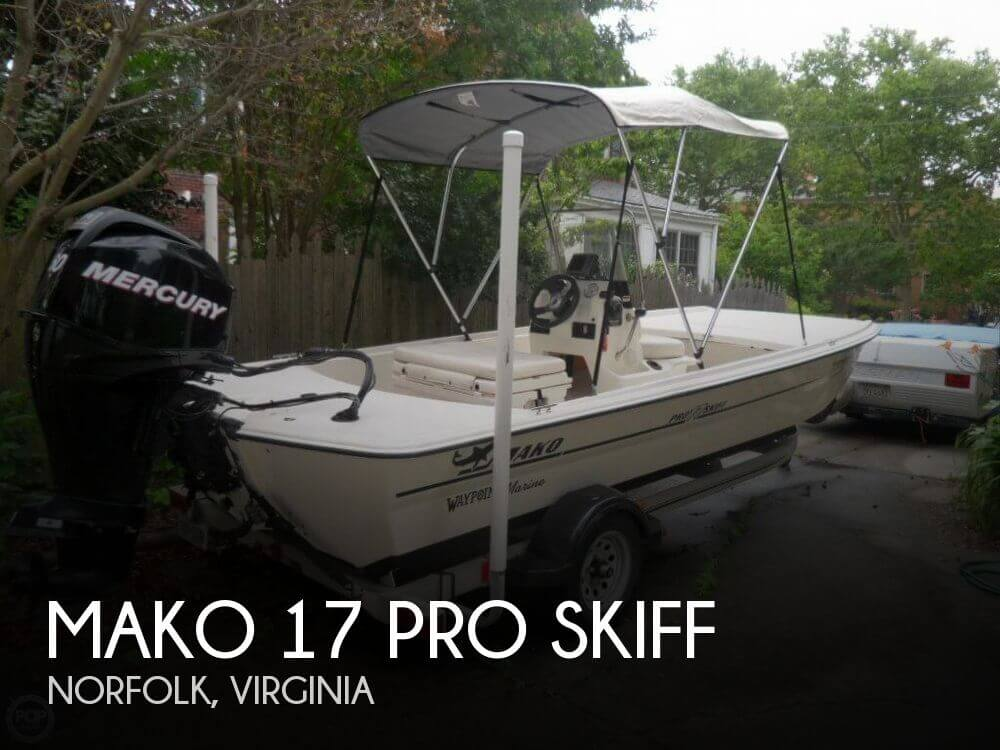 2012 MAKO 17 PRO SKIFF for sale