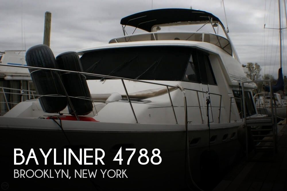 Used Boats For Sale in New York, New York by owner | 1995 Bayliner 47