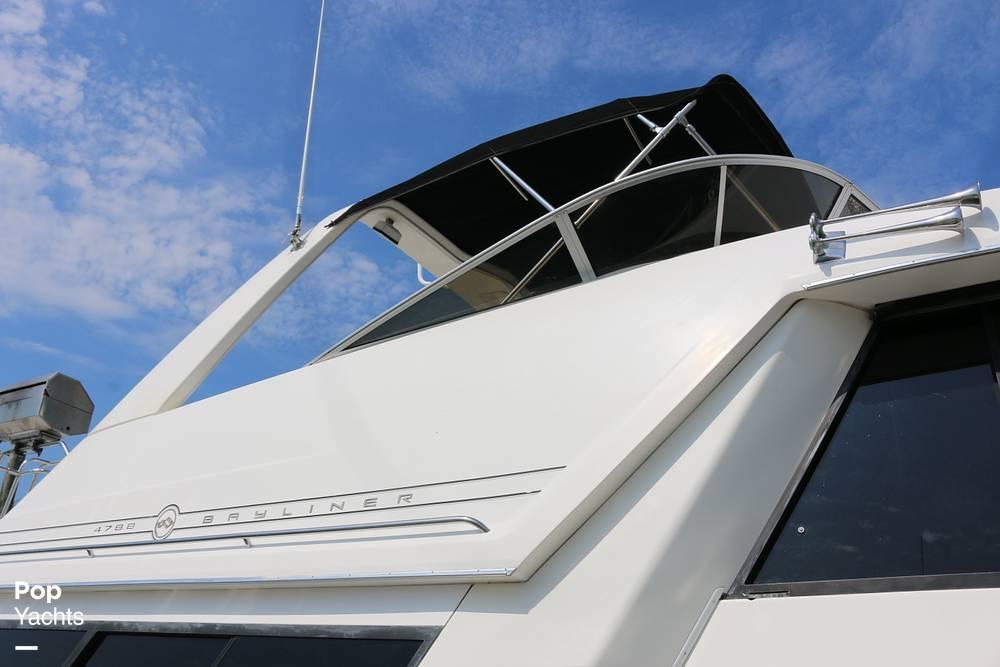 1995 Bayliner boat for sale, model of the boat is 4788 & Image # 28 of 40