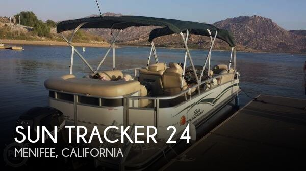 Used Sun Tracker Pontoon Boats For Sale by owner | 2011 Sun Tracker 24