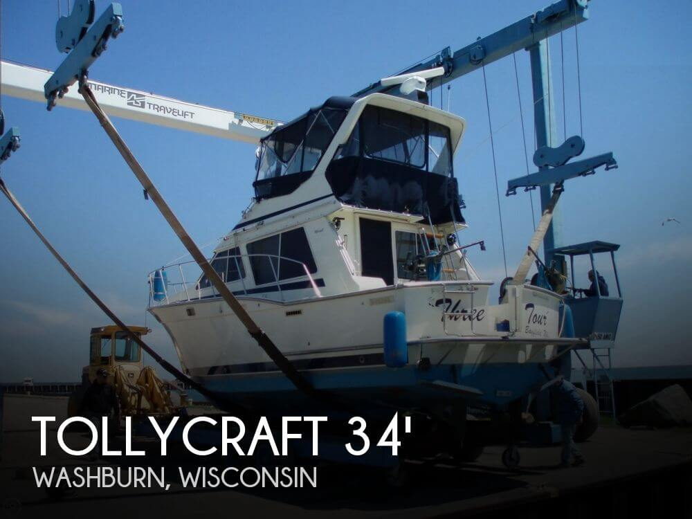 Used Boats For Sale in Wisconsin by owner | 1988 Tollycraft 34